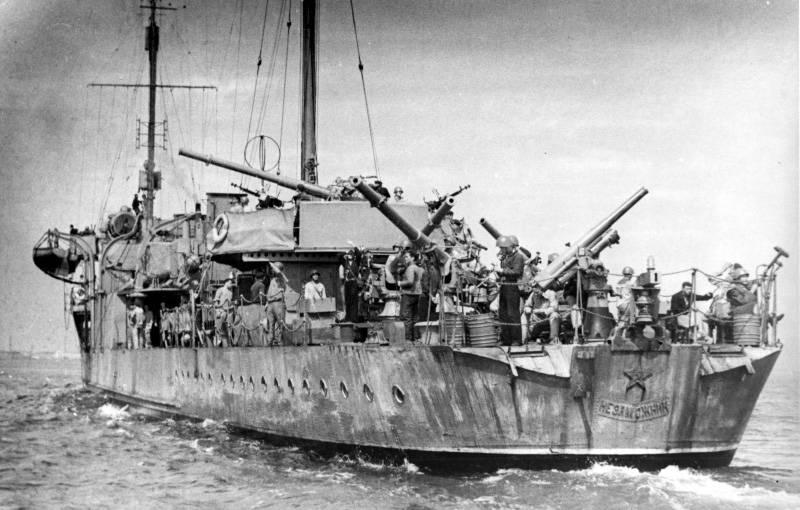 Estaleiro do Mar Negro: os primeiros anos do poder soviético
