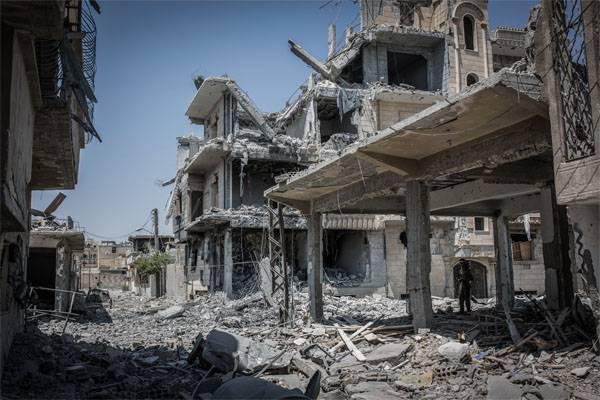 Syrisches Außenministerium: Raqqa wurde von den USA besetzt