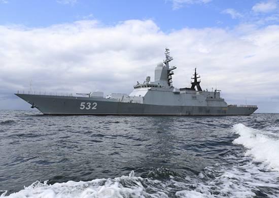 俄罗斯护卫舰进入地中海