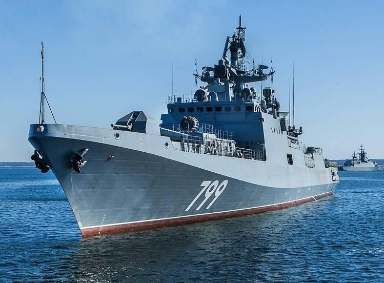 """La fragata """"Almirante Makarov"""" se unirá a la flota a finales de año."""