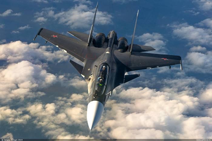 Regimento de Aviação Kursk ZVO recebeu dois lutadores Su-30CM