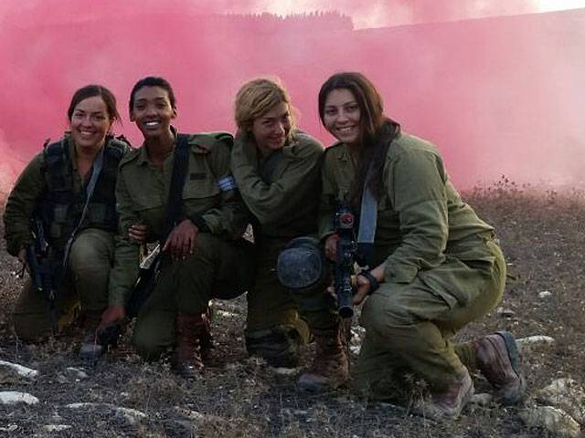 IDF first began training female tank crews