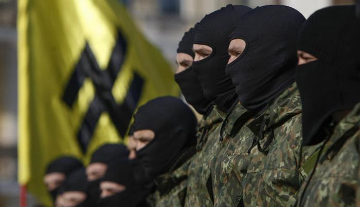 """""""आज़ोव"""" के आतंकवादी कैटालोनिया में एकत्र हुए"""