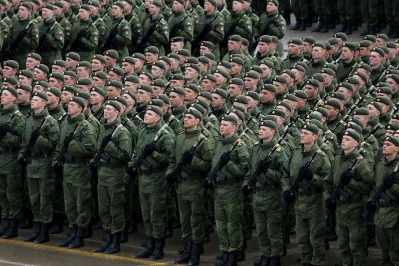 О заявлении президента Путина о контрактной армии в России