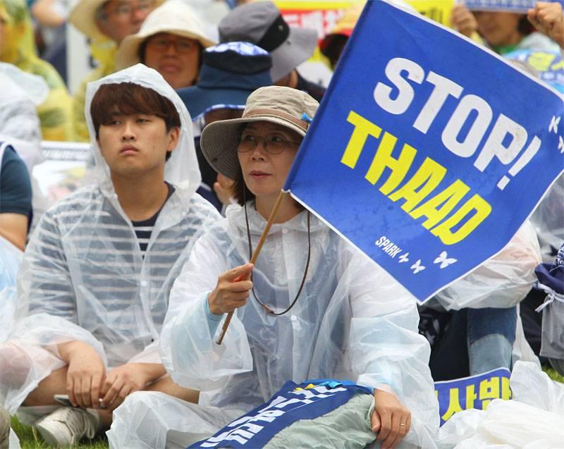 Пекин жёстко поговорил с Сеулом по поводу THAAD