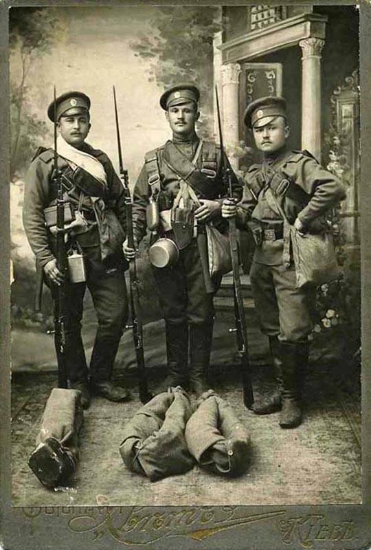 100 лет русской славы. Униформа и снаряжение пехоты Российской Императорской армии
