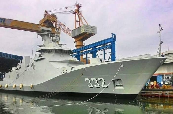 Indonesia adoptó una nueva fragata.
