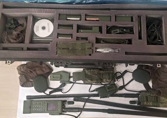 The Central Military District troops received more than a thousand digital radio stations.