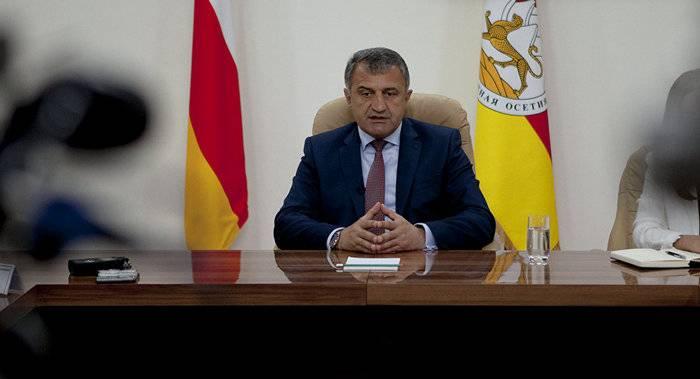 O Presidente da Ossétia do Sul ratificou o acordo de cooperação com o DPR
