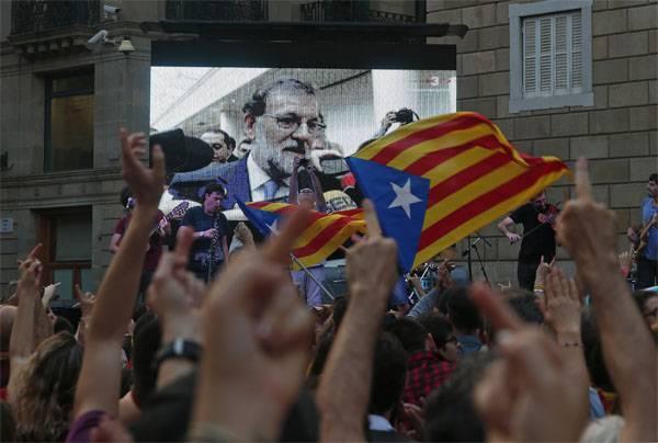 स्पेनिश सीओपी ने स्वतंत्रता की घोषणा की कैटलन को रद्द कर दिया