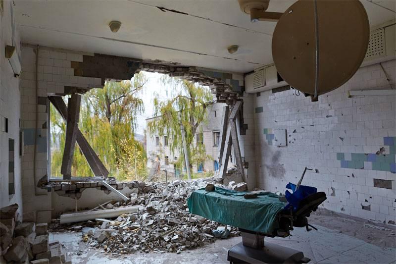 Donbass wiederherstellen. Zu zweit, aber heute ...
