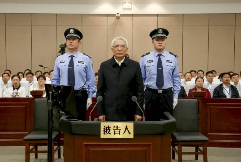 В Китае за 5 лет наказали за коррупцию около 1,3 млн. госслужащих