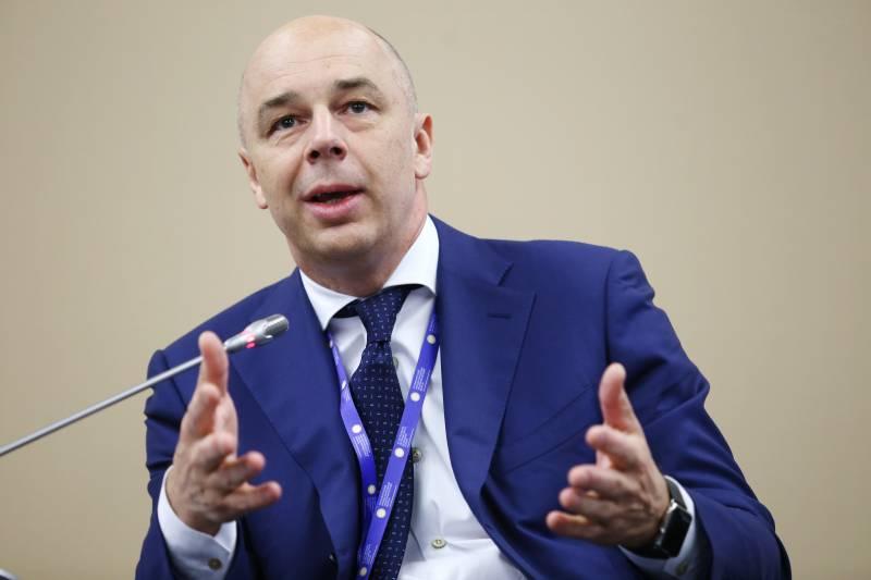 Силуанов: Россия открыта для переговоров с Украиной по трехмиллиардному долгу
