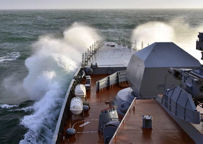"""Pasifik Filosunda, en yeni corvette """"Loud"""" mürettebatının oluşumu"""