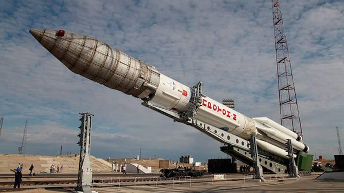 Shoigu:陆军将在年底前获得两辆Proton-M运载火箭