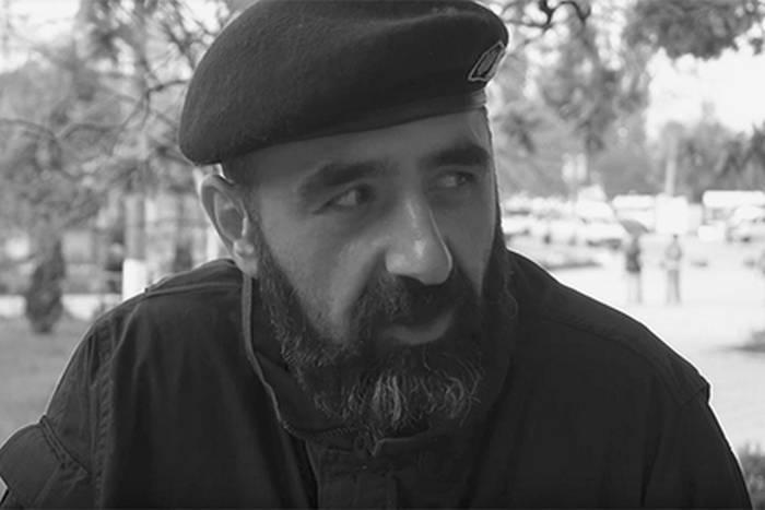 Donetsk yakınlarında Gürcü paralı asker APU'sunu öldürdü