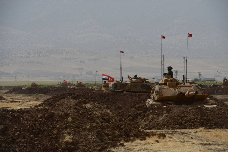 """Why did Turkey """"plow"""" the border with Iraq?"""