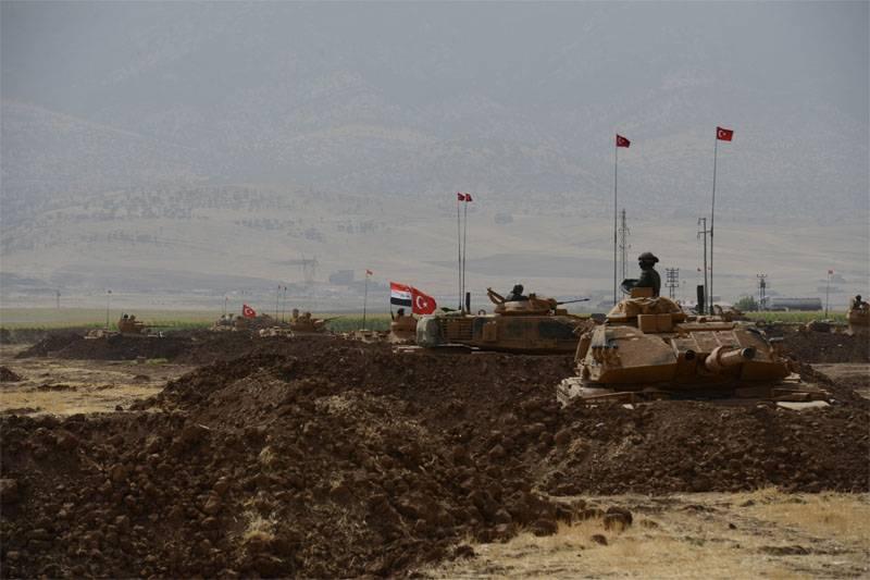 Pourquoi la Turquie a-t-elle «labouré» la frontière avec l'Irak?