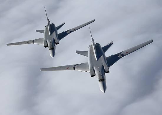 """Tu-22M3 atingiu os """"meninos barbudos"""" na área de Abu Kemal (ATS)"""