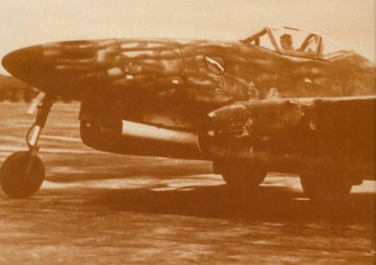 """""""45中的德国空军。 最近的航班和项目。 续,是1的一部分"""