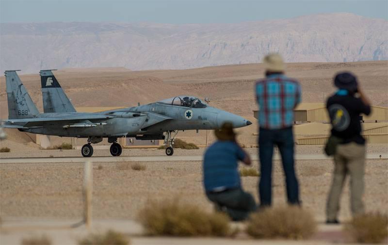 Израильская авиация нанесла удар по территории провинции Хомс