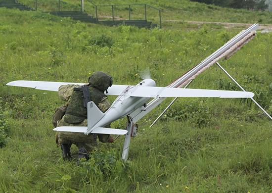 "In the Central Military District received upgraded drones ""Orlan-10"""