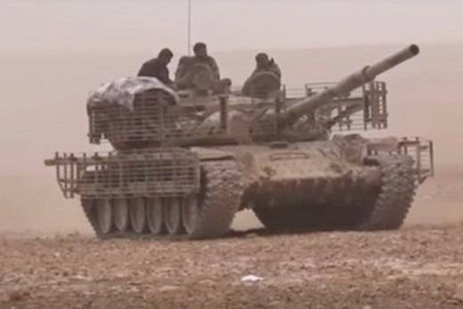 """Syrian """"tank special forces"""" again in battle"""
