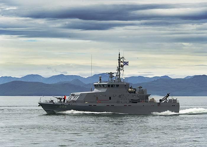 """太平洋舰队收到一个新的反破坏船项目""""白嘴鸦"""""""