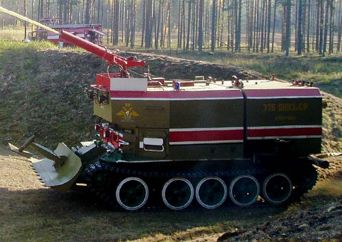 In the VBI, the delivery of modern fire tanks began.