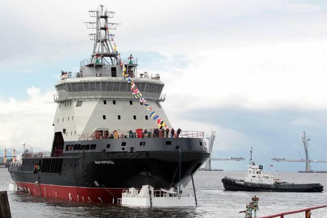 """破冰船""""Ilya Muromets""""和""""Elbrus""""号船将在年底前成为舰队的一部分"""