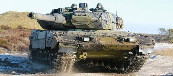 Modernization of tanks Leopard 2 of the Danish army