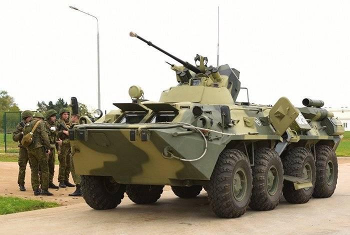 超过2,2千台军事装备将于年底抵达南部军区。