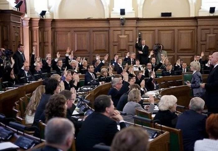 Le Sejm letton légifère les participants de la guerre de l'URSS et de l'Allemagne fasciste