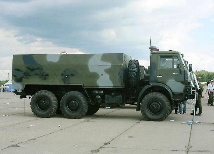 アムール地方のRCBP部隊はスモークマシンTDA-2Kを受け取った