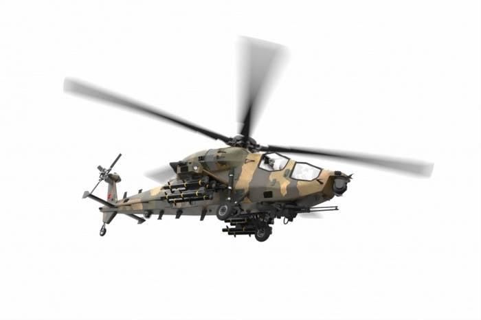 土耳其准备建立自己的直升机