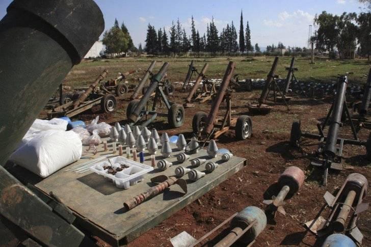 En Deir ez-Zor, un auto minado con químicos fue descubierto.