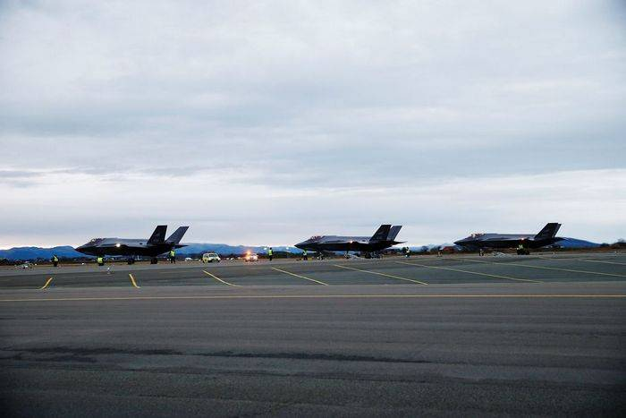 Norway received the first F-35 fighters
