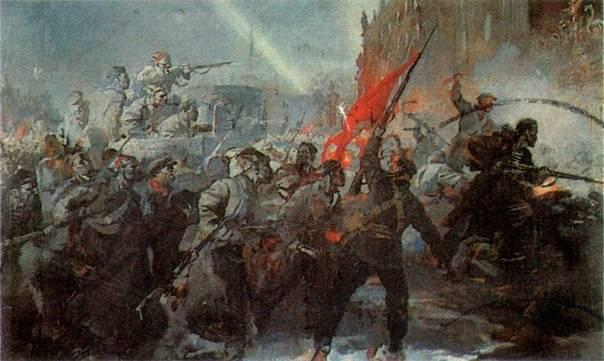 布尔什维克开始实施一个新的发展项目,不仅拯救了俄罗斯,而且拯救了整个人类