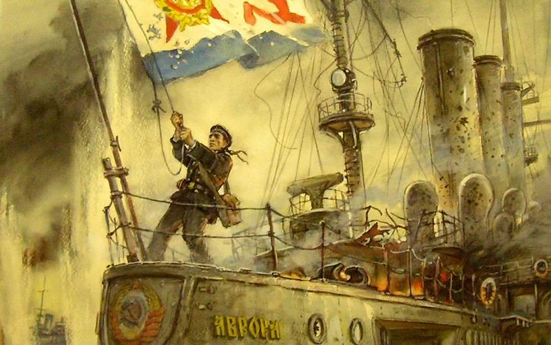 No tiro de Aurora: Não dê trunfos a Russophobes