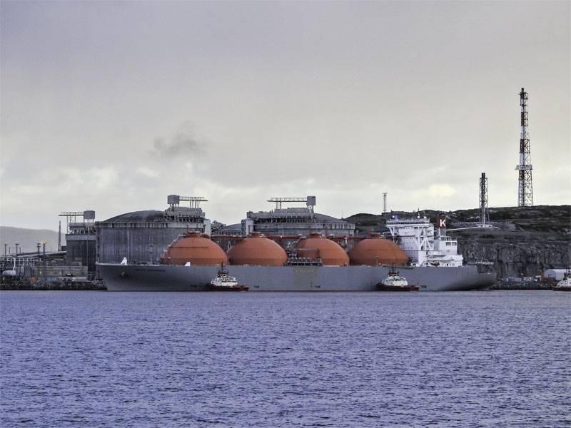 大众媒体:美国以自己的名义向欧洲供应俄罗斯液化天然气