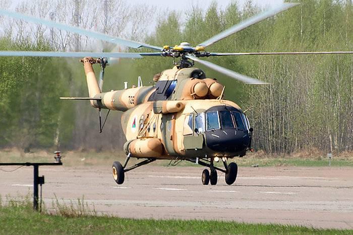 रूस थाईलैंड को दो Mi-17V-5 हेलीकॉप्टरों की आपूर्ति करेगा