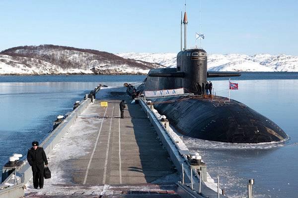 """Submarino nuclear """"Tula"""" está se preparando para retornar ao serviço"""