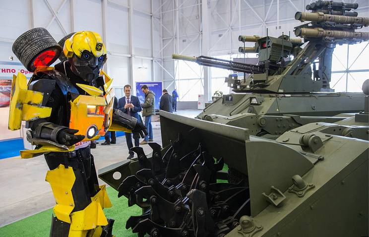 In the Armed Forces of the Russian Federation, the number of robotic complexes increased 11 times