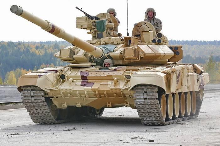 La Russie a commencé à fournir des chars T-90С au Vietnam