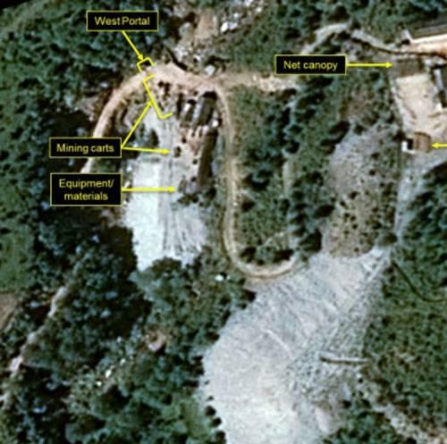 США: Северная Корея вновь активизировала работу на полигоне Пунги Ри