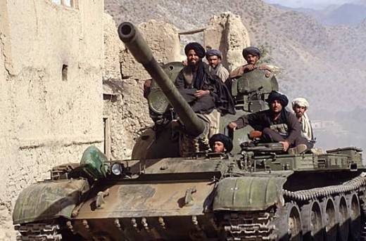 Special Forces USA and CIA agents fought in Afghanistan against T-72?