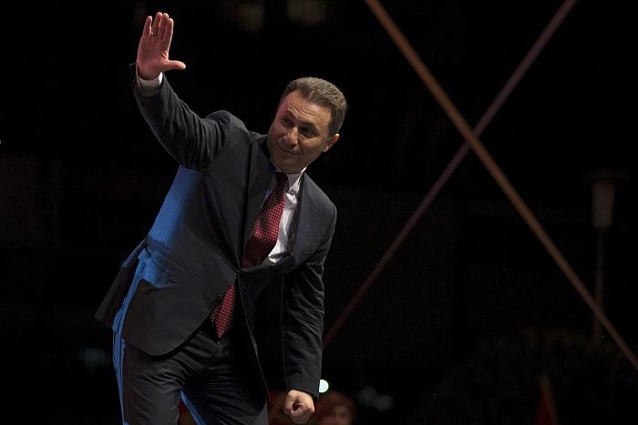 Der mazedonische Premierminister gab Tomaten zugunsten der NATO auf
