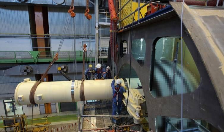 La livraison de la tête du sous-marin nucléaire français déplacé à l'année 2020