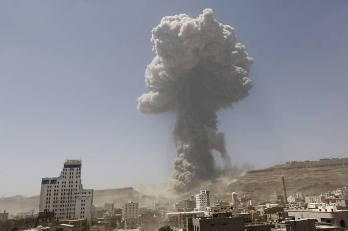 媒体:阿拉伯联盟对也门发动了一系列袭击