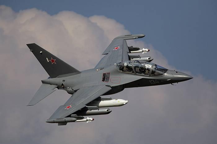 Rusia puso Myanmar seis Yak-130